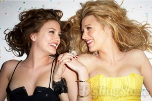 Blake Lively and Leighton Meester, Pseudo-Lesbian Photos lesmedia