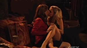 Alex Breckenridge and Olivia Hardt Lesbian Kiss, Dirt lesbian Images
