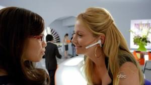 America Ferrera and Becki Newton, Lesbian Kiss lesmedia