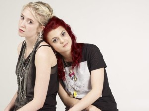 Lily Loveless and Kathryn Prescott Skins, Naomi and Emily Lesbian couple