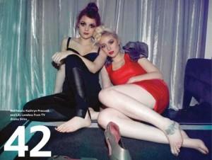 Lily Loveless & Kathryn Prescott, Lily Loveless and Kathryn Prescott Lesbian Couple Skins