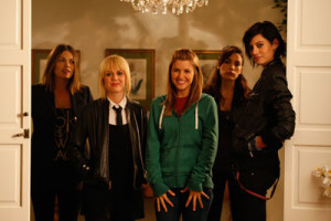 GIRLTRASH: All Night Long, Cast On the Set