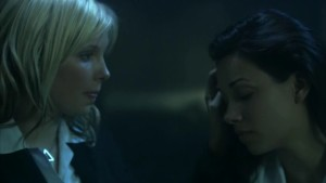 Jordan Madley and Jennifer Miller, Lesbian Kiss