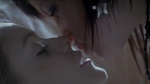 Jemima Rooper and Christina Cole, Lesbian kiss HEX LesMedia