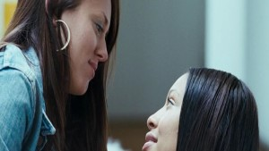 Shanika Warren-Markland and Susannah Fielding, Lesbian Kiss 4.3.2.1