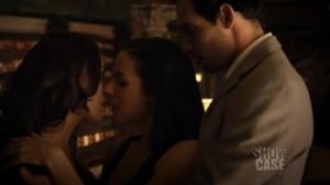 Anna Silk Lesbian Kiss, Lost Girl