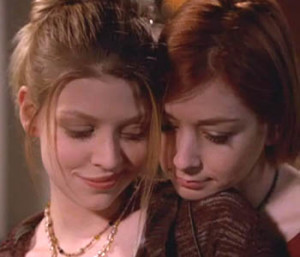 Willow and Tara, Lesbian Images Buffy the Vampire Slayer