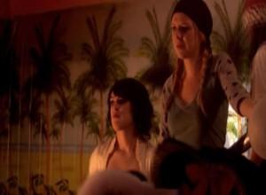 Rumer Willis and Tegan Moss Lesbian Kissing Scene From Wild Cherry, lesmedia