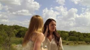 Cherilyn Wilson and Yara Martinez, Lesbian Kiss Chase TV Show lesmedia