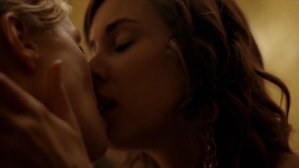 Biel jessica kiss lesbian remarkable, the
