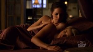 Zoie Palmer and Anna Silk Lesbian Scene, Lost Girl Lesbian TV Watch Online lesbian media
