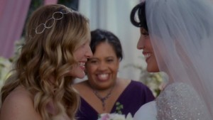 Callie and Arizona Lesbian Wedding, Grey's Anatomy Watch Online LesMedia