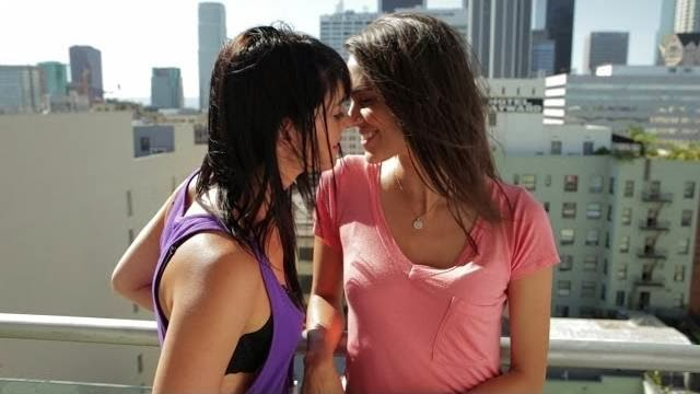 Sensuality of lesbian video