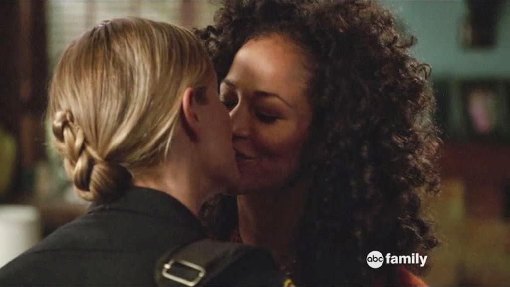 Lena Stef Lesbian Kiss The Fosters Lesbian Media Blog