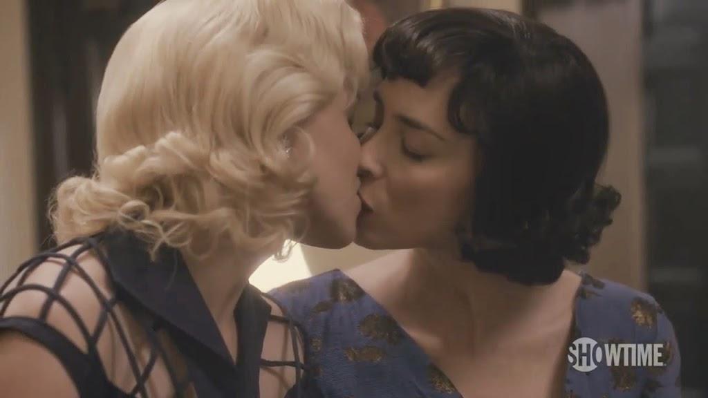 Nude lesbian kiss sarah