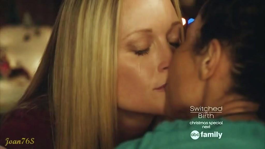 Stef and Lena Lesbian Kiss