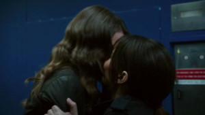 Root & Shaw Lesbian Kiss