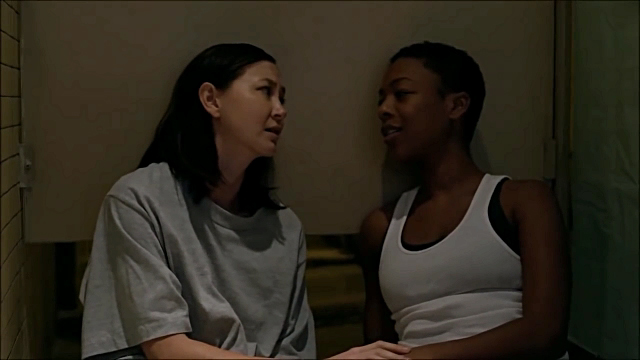 Lesbian scenes orange is the new black