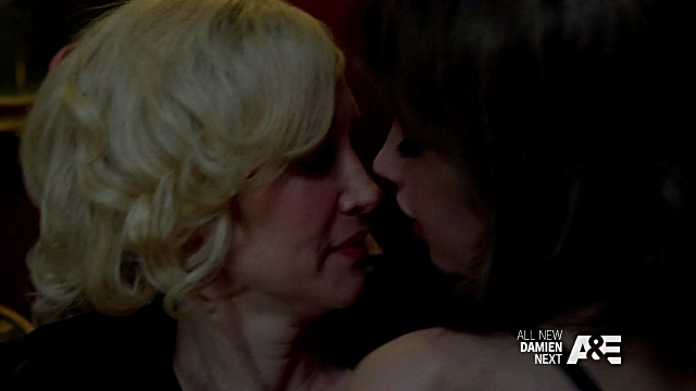 Vera Farmiga and Alexia Fast Kiss from Bates Motel