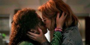 Gugu Mbatha-Raw and Mackenzie Davis from Black Mirror Season 3 Episode 4